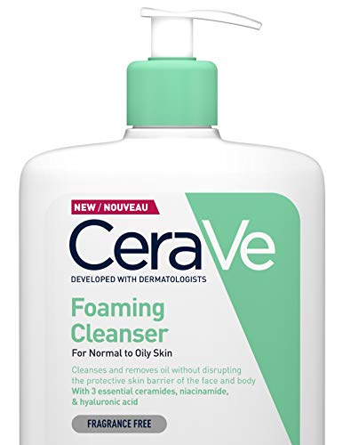CERAVE FOAMING CLEANSER FOR NORMAL TO OILY SKIN 1000ML