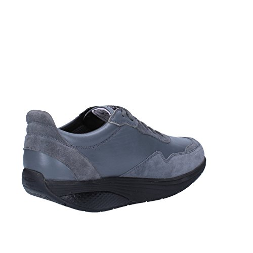 MBT - Zapatos de cordones para hombre Gris