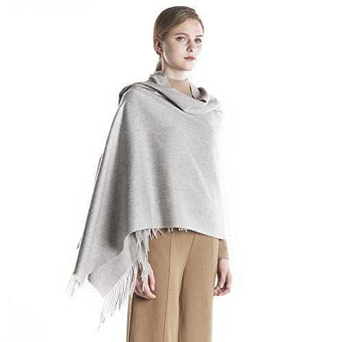 KAISIN 100% Wool Women Soft Shawl Ultra-Plush Comfort Largesize Blanket Scarf,Use For Home,Outdoor,Travel by KAISIN (Image #6)