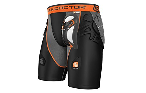 Shock Doctor Men's Ultra Shockskin Hockey Shorts, X-Large