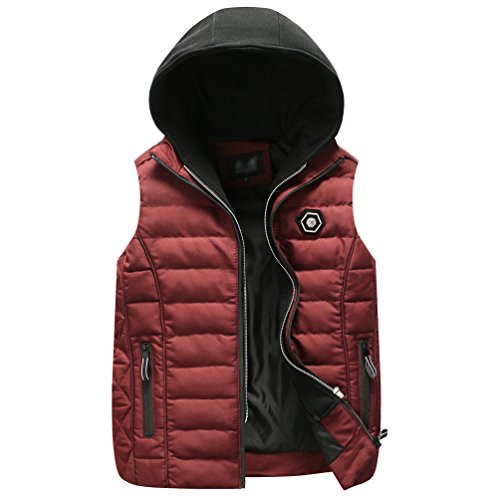 Mens Gillet Quilted Padded Sleeveless Body Warmer Stuffed New Padded Puffer