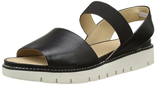 C Flat Sandals D Women's Black Darline Geox 1qxtz4PwI