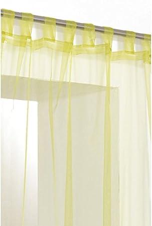 voilage jaune pattes. Black Bedroom Furniture Sets. Home Design Ideas