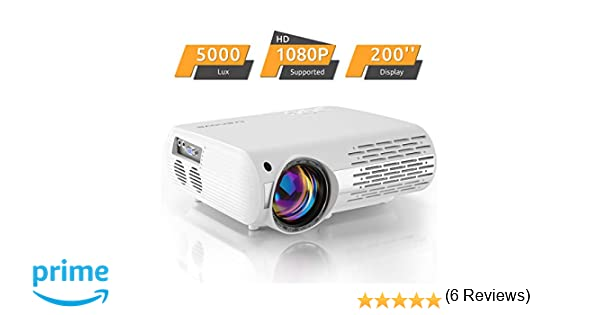 Proyector de Cine en casa de 6000 Lux (550 ANSI) XPE660 ...