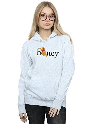 Disney Women's Winnie The Pooh Honey Hoodie Sport Grey XX-Large]()