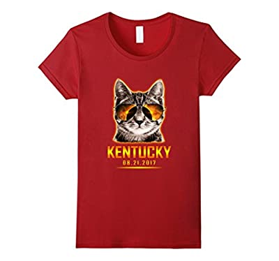 Cat Is Watching Kentucky Total Solar Eclipse Funny T-shirt