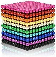 MagneDotz Magnetic Balls 3 mm 1010 Pieces Magnet Ball Cube Fidget Gadget Toys Rare Earth Magnet Office Desk To
