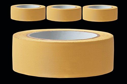 3 Rollen PROFI Putzerband 38 mm gelb gerillt 33m PVC Schutzband Putzband Bautenschutz Klebeband Putz Abdeckband