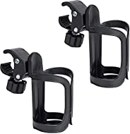 2 Pack Bike Cup Holder, 360 Degrees Rotation Bicycle Bottle Cage, Universal Cycling Water Bottle Holder for Ba
