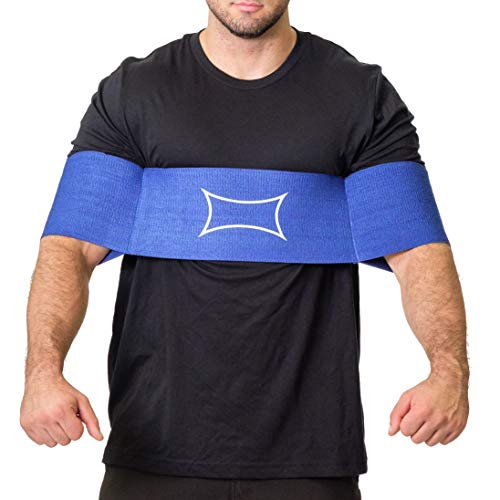 Sling Shot Mark Bell Reactive, Blue, XL (Best Bench Press Assistance)