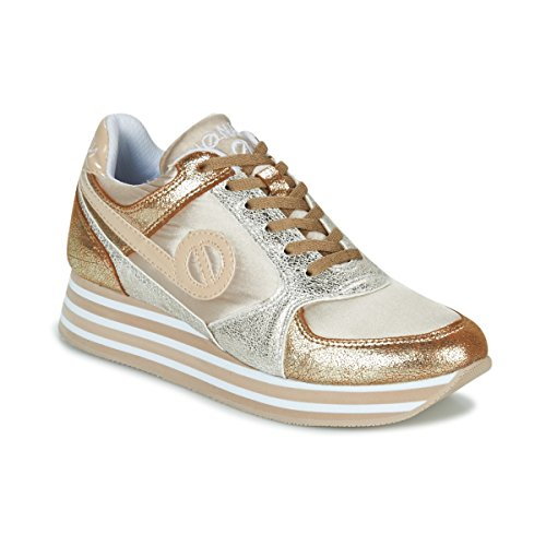 Sneakers Basse oro Oro Beige Donne Jogger Noname Parko Beige x4TCzx