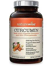 NatureWise Organic Curcumin Turmeric