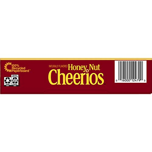 Honey Nut Cheerios, Gluten Free Cereal With Oats, 10.8 Oz