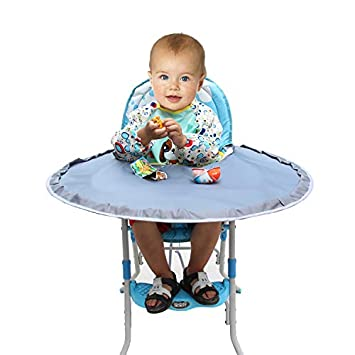 590c9cbc1 Amazon.com   Enligten Waterproof Baby Feeding Saucer High Chair ...