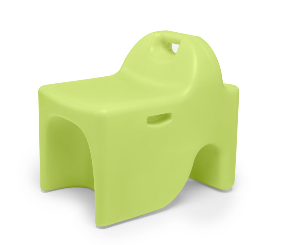 Viggi Kids Vidget 3-in-1 Flexible Made in The USA-Medium 14'' Seat Height Ages 6-9 Active, Stool & Desk, Lively Lime by Viggi Kids