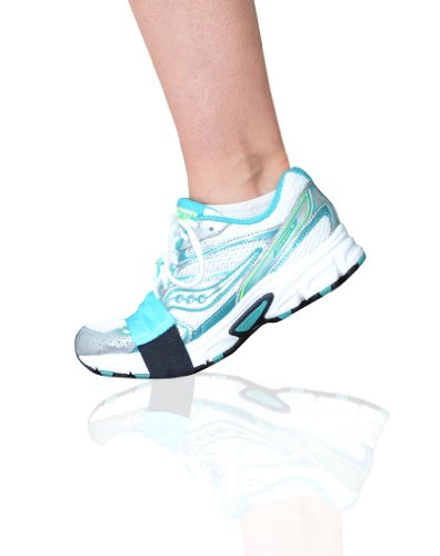 Turquoise Smooth Dancers for Shoes to Glide on wood, tile or linoleum floors – Latest Stylish Accessory in Workout Footwear – Dance in Sneakers and Protect Knees – - By Slip-On Dancers