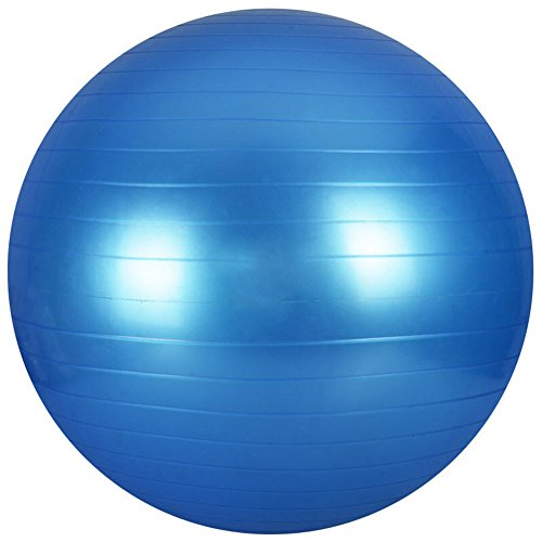 Facecozy Homme et Femme Yoga Boule Boule d'exercice (3couleurs) Core Force équilibre stabilité 65cm respectueux de l'environnement en PVC Pilates Boule Boule de naissance perdre du poids