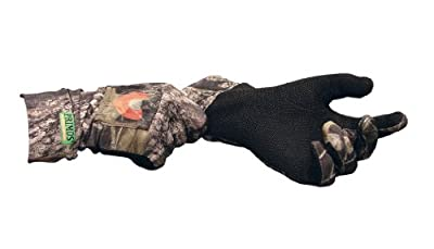 Primos Stretch-Fit Call Gloves (Mossy Oak New Break-Up)
