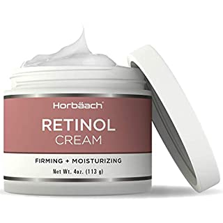 Retinol Cream for Face | 4oz | SLS & Paraben Free Moisturizer | By Horbaach