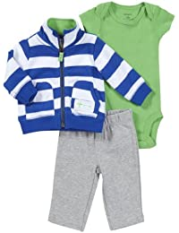 Baby Boys' 3 Piece Hooded Set (Baby)