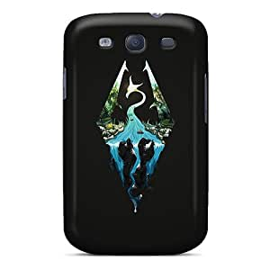 Samsung Galaxy S3 Tzq15314UaNI Customized Stylish Skyrim Artwork Skin Great Cell-phone Hard Cover -Marycase88