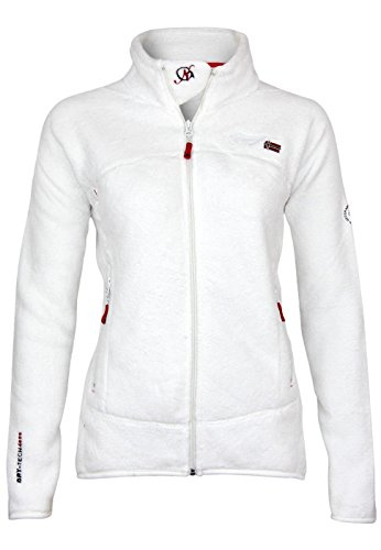 Cappotto off Geographical Assort Norway B Uniflore White Weiß Donna Lady jean 6nXSn8x4q