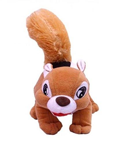 Deals India Beige Squirrel Soft Toy 30 Cm