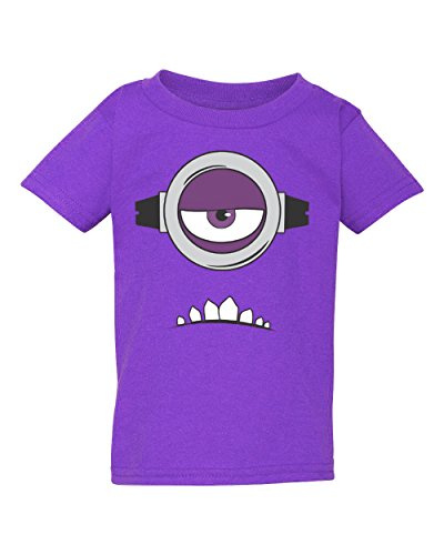Tee Tee Monster Toddler Evil Minion Inspired Shirt (5T, One -
