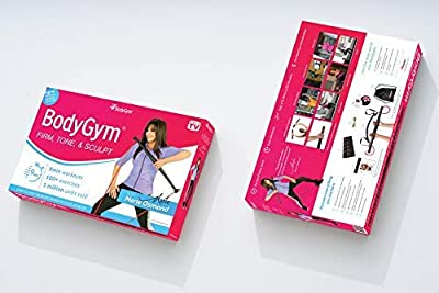 Bodygym Resistance Bands - Official Core System with Marie Osmond - Portable Gym - Strength and Resistance Home Gym from BodyGym