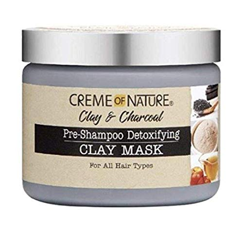Creme of Nature Pre-Shampoo Detoxifying Clay Mask, 11.5 Ounce