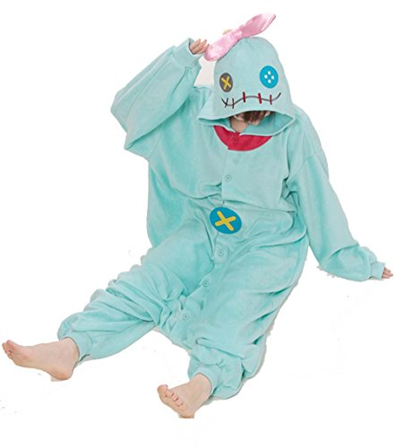 Scrump Doll Costume (Scrump The Doll Kigurumi-Halloween Party Costume Onesie Pajama For Adult and Teens Small)