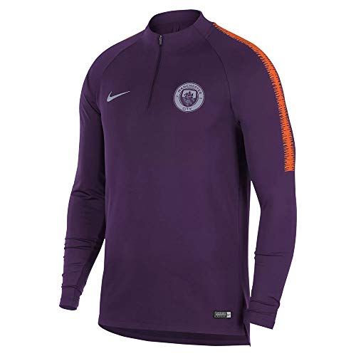 Nike 2018-2019 Man City Training Drill Top (Night Purple)