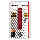 Xl200 3-Cell Aaa Led Red Blister Maglite Xl200-S3036