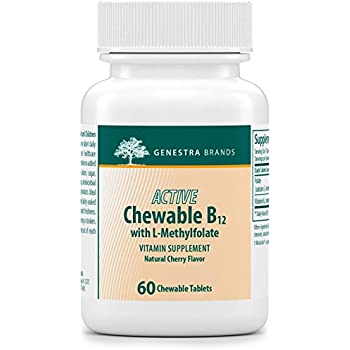 Amazon Com Genestra Brands Active Chewable B12 With L
