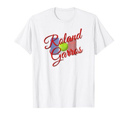 - Roland Garros Tennis T-Shirt for the Fan