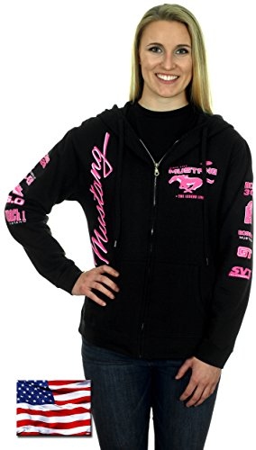 womens-ford-mustang-hoodies-with-exclusive-american-flag-sticker-large-log5-black-pink