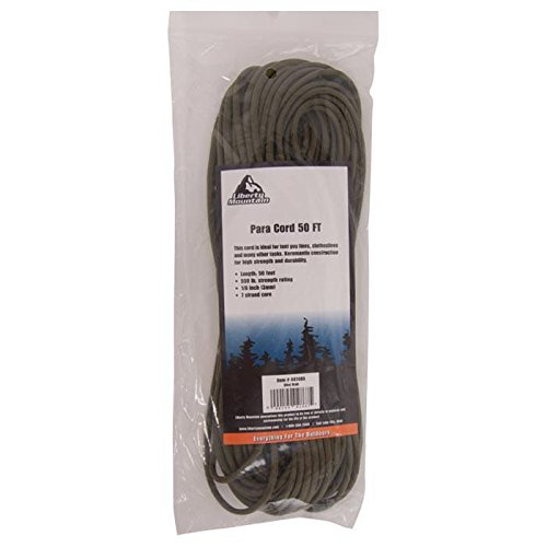 Liberty Mountain Paracord, Olive Drab, 50-Feet