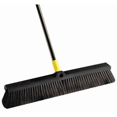 Quickie Bulldozer 24-Inch Multi-Sweep Push Broom