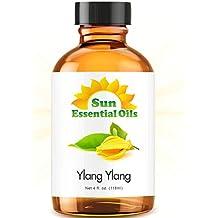 Sun Organic Ylang Ylang Essential Oil - 4oz