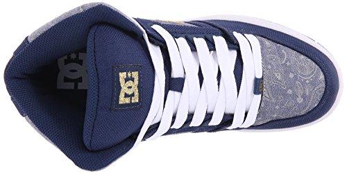 Rebound Tx Se Blue Insignia Shoes Hautes High femme DC Sneakers TZwvqt5