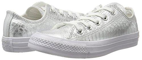 Metallic Sneaker Multicolore Star All 0 Reptile Donna Snake Converse silver ZaxAw0T