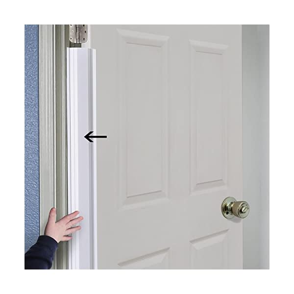 PinchNot Home Door Shield Guard for 90 Degree Doors – Finger Shield & Protector to Child Proof Your Door. By Carlsbad Safety Products