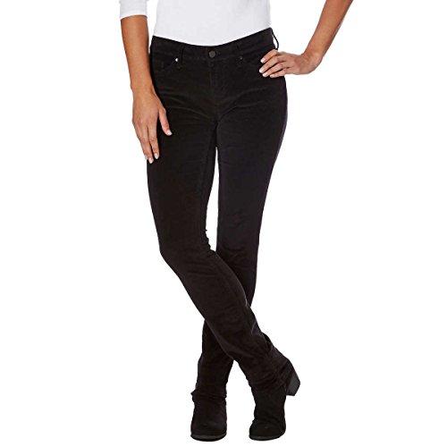 Calvin Klein Jeans Women's Skinny Jean (Black Corduroy, 10x32)