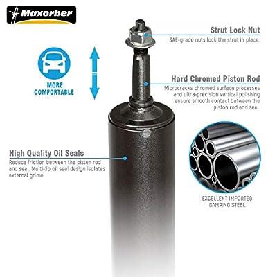Maxorber Front Set Shocks Struts Absorber Kit Compatible with Dodge Ram 1500 Pickup 2002 2003 2004 2005 4WD Shocks Absorber: Automotive