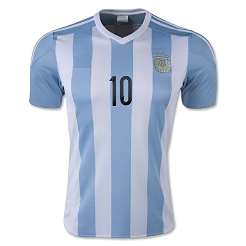 sports shoes bbeb2 c1e03 Argentina Messi #10 Home Kids Soccer Jersey All Youth Sizes Football Kit  Shorts (11-12 y.o)