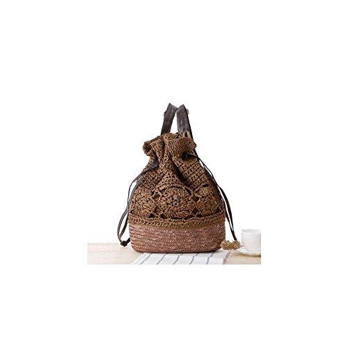 vintage-boho-string-drawstring-straw-weave-crochet-shoulder-bag-backpack-bags-color-coffee
