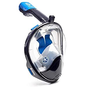 Seaview 180° Full Face Snorkel Mask with EVA Case