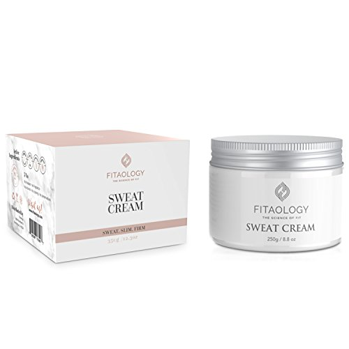 Fitaology Sweat Cream weight loss - firming body lotion- anti-cellulite cream - firming sweating slimming cream gel formulation - encourages thermogenic and muscle activity