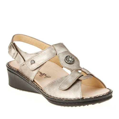 Espresso Beige Comfort Womens Adana marrón Finn Leather Sandals 0HawqX