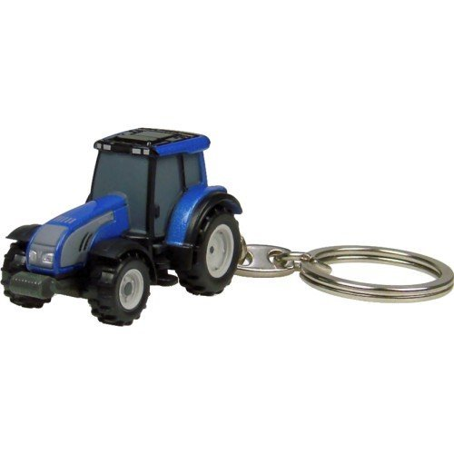 Valtra Series T Keyring (Metallic Blue) by Universal Hobbies (Series Valtra)